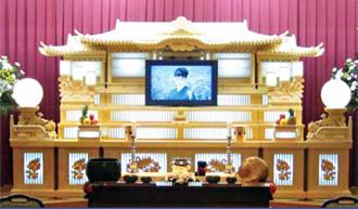 白木祭壇(60名収容)